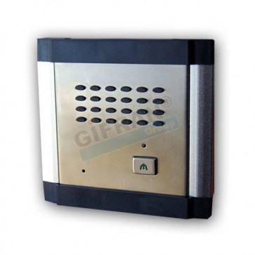 Citofono per centralino telefonico Gifran, pulsantiera citofonica esterna da interfacciare ai centralini telefonici