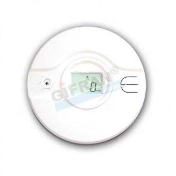 Antifurto casa senza fili, sensore Anti incendio wireless, sensore rilevamento fumi wireless per impianto di allarme.