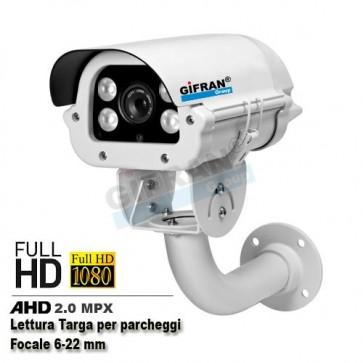 Telecamera AHD Lettura Targa