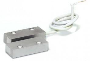 Antifurto casa contatto magnetico reed, N.C. in alluminio