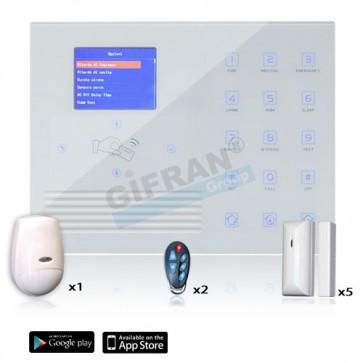 Centrale allarme wireless connessionen internet