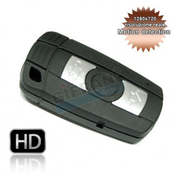 microcamera chiave BMW