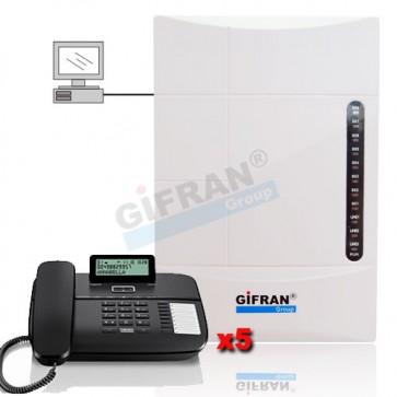 Kit centralino completo di telefoni prezzi rivenditori