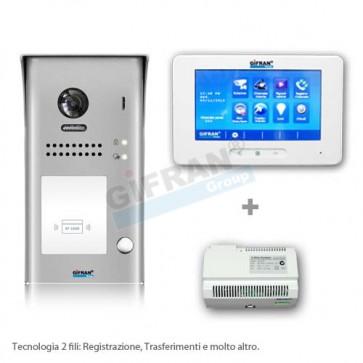 Kit videocitofono monofamiliare professionale in offerta