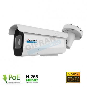 telecamera IP 5 megapixel con slot SD per memoria interna