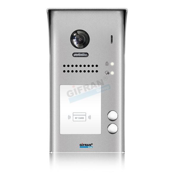 Videocitofono 2 Fili Gifran Bifamiliare 2 Appartamenti Collegamento 2 Fili