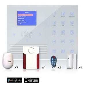 kit antifurto casa wifi