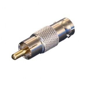 Connettore BNC a RCA cavo videosorveglianza per collegamento cavi RCA