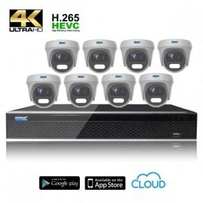 kit videosorveglianza 8 telecamere 4K prezzi offerta