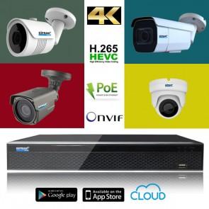 kit videosorveglianza IP preventivo