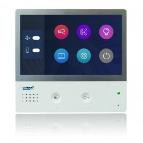 Videocitofono 2 fili 7 pollici touch screen monitor