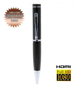 spy pen professionale con hdmi 16 GB
