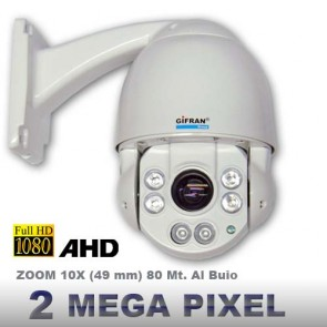 Telecamera professionale AHD Speed Dome 10 X