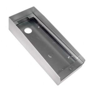 Protezione Pioggia Videocitofono, Tettoia opzionale per riparare dalla pioggia la pulsantiera esterna.