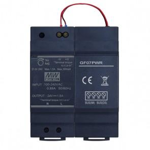 Videocitofono 2 fili alimentatore per quadro