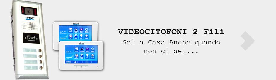 videocitofono 2 fili